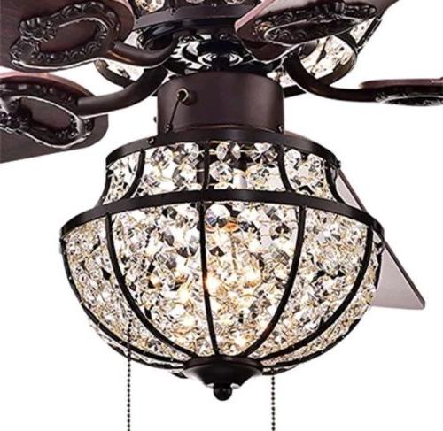 "52"" Crystal Light Home Pendant Lighting"