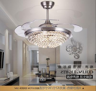 Crystal Invisible Ceiling LED Chandeliers Home Pendant