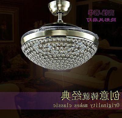 Crystal Fans LED Pendant Lamp