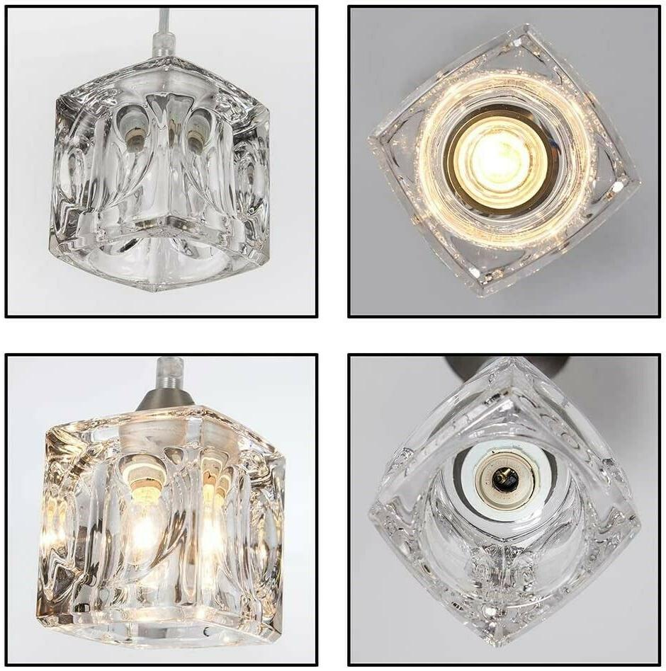 Crystal Fixture Hanging Clear 2 New