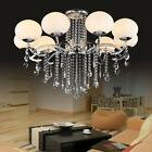 Deluxe European Stylish 9 Light Crystal Ceiling Lamp Pendant