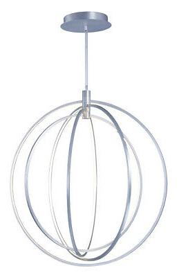 e24049 bp concentric led pendant brushed pewter