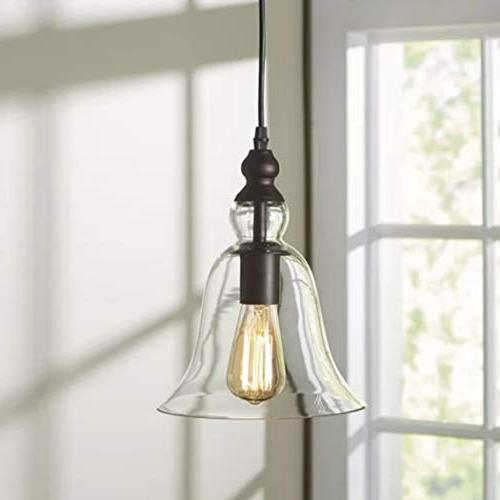 CLAXY Ecopower Vintage Hanging Big Bell Glass