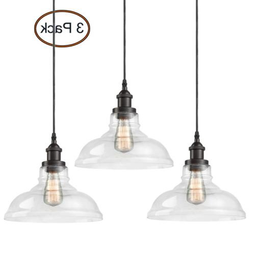 CLAXY Ecopower Industrial Pendant Lighting Glass Oil Rubbere