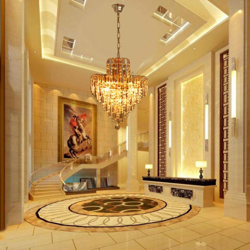 Elegant Crystal Chandelier Ceiling Light Lamp Pendant Lighti