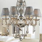 Elegant Crystal Chandelier Modern Ceiling Light 6 Lamp Penda