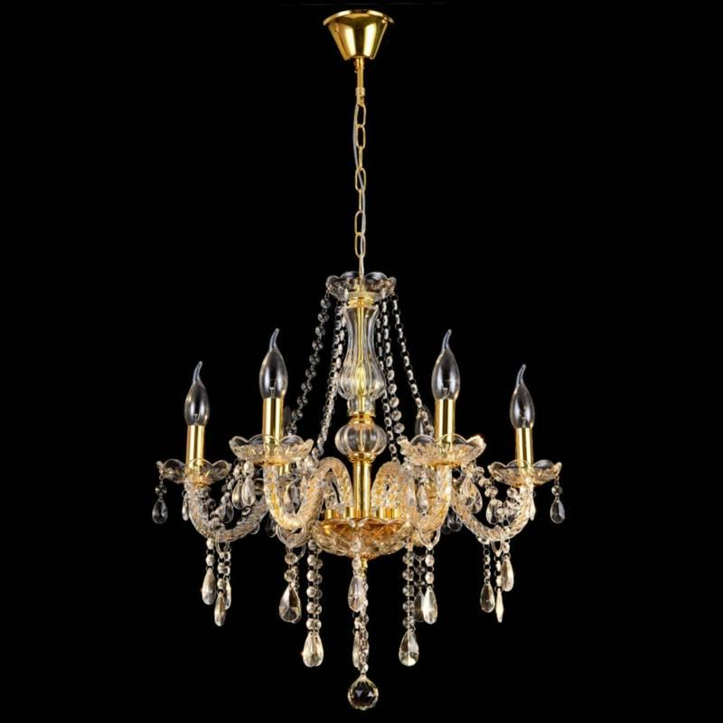 Elegant Crystal Glass Pendant Ceiling 6-12 Light USA