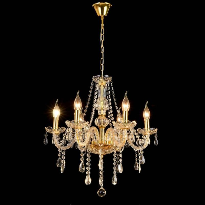 Elegant Crystal Chandelier Pendant Ceiling Lighting Fixture 6-12