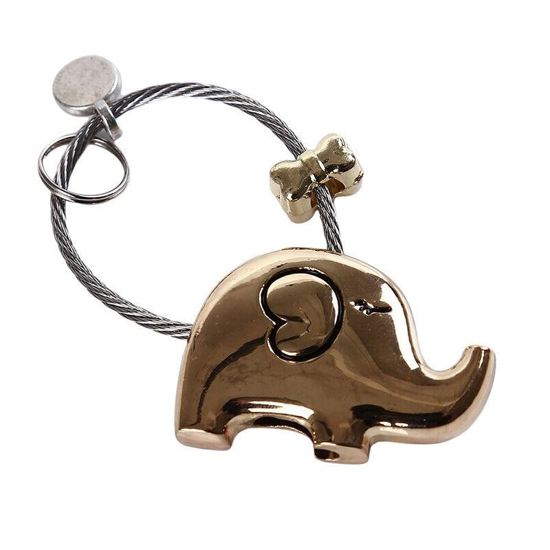 Elephant Accessories Pendants Decoration Novelty Key Keychains