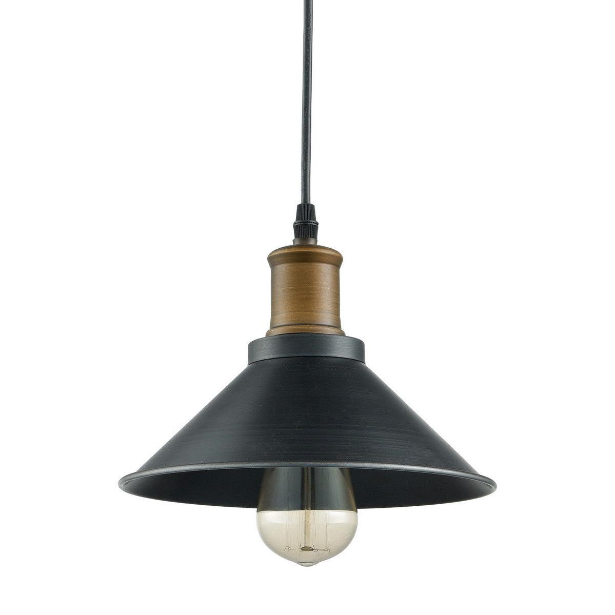 Farmhouse Industrial Ceiling Hanging Light Black Lighting