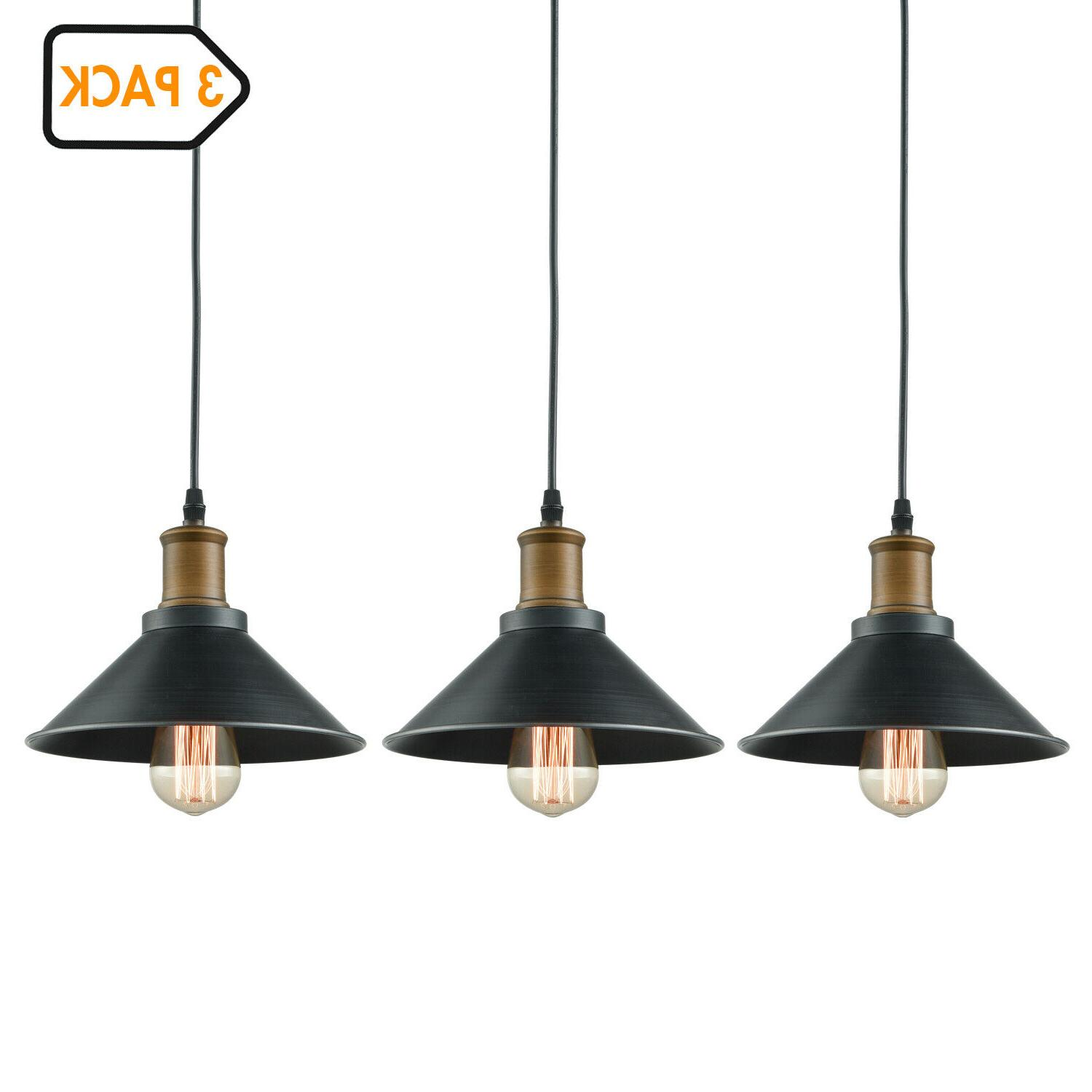 farmhouse industrial mini ceiling hanging light metal