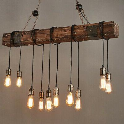 Ladiqi 2 Lights Pendant Light Industrial Farmhouse Dining Table Hanging Island Lighting Fixture Retro Antlers Chandelier Lights Amber For Kitchen Dining Room Living Room Bar Billiard Pool Table Lights