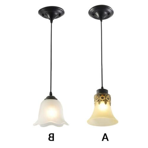 glass pendant light hanging ceiling loft lighting