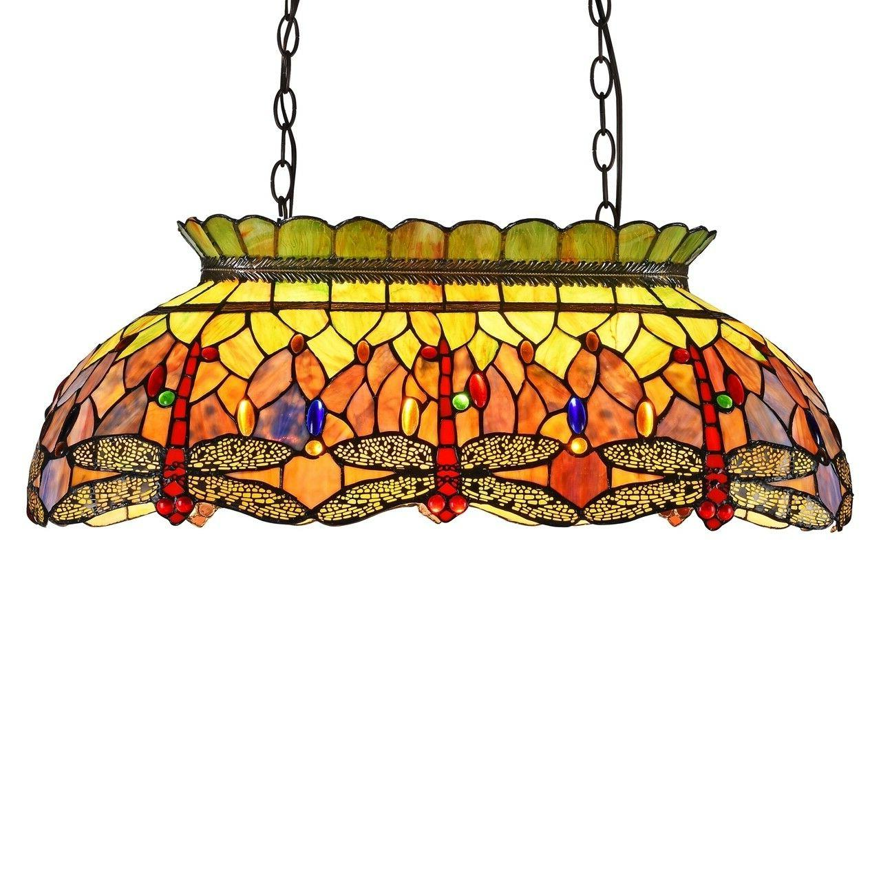 HandCrafted Tiffany Style Glass Pendant