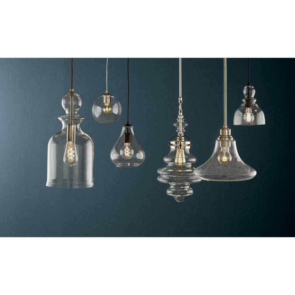 Home 1-Light Pendant w Glass D2