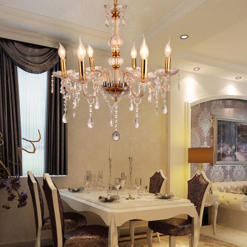 Home Modern Crystal Chandelier