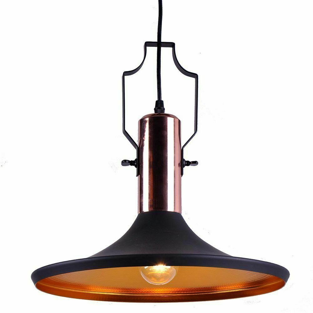 industrial black pendant light kitchen bar lighting
