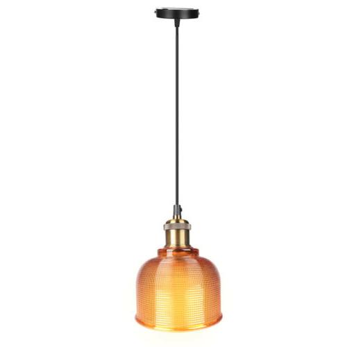 Industrial Pendant Color Plating Lamp Shade Hanging Fixtures