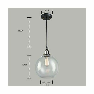 AXILAND Industrial Pendant Lighting with Light