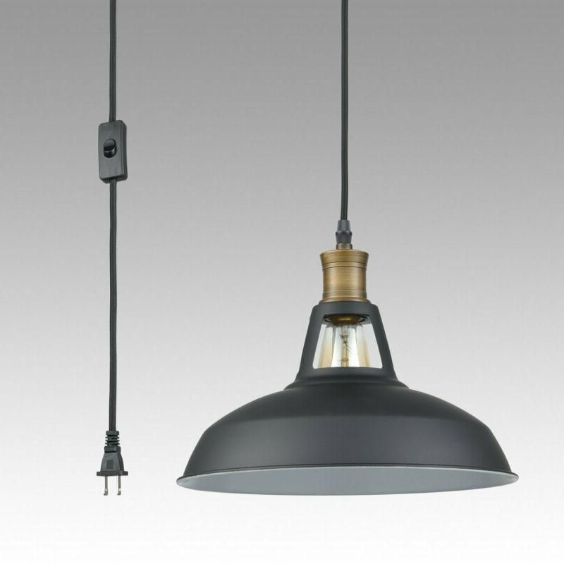 Yobo Lighting Industrial Pendant Light With Ft Cord And On/Off Switc