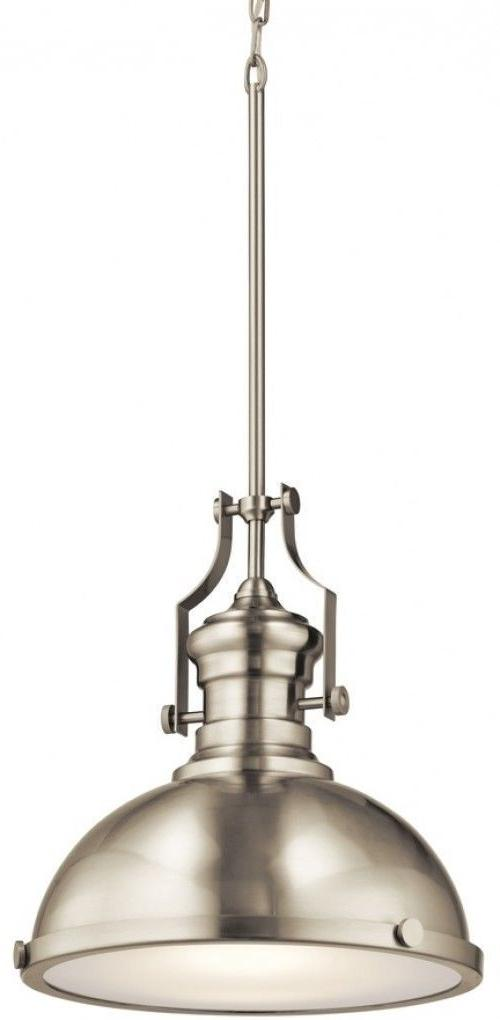 industrial style led pendant light fixture satin