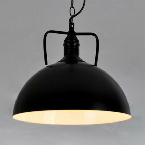 "Industrial 11.8"" Pendant Light Hanging Ceiling"