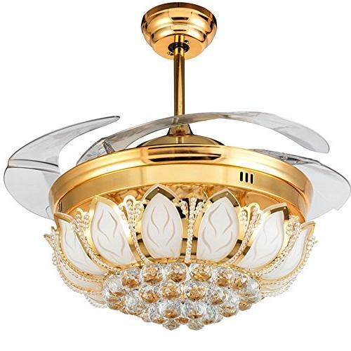 invisible crystal ceiling light