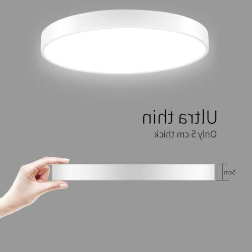 LED Ceiling Dimmable Ultra Thin Flush Mount Fixture