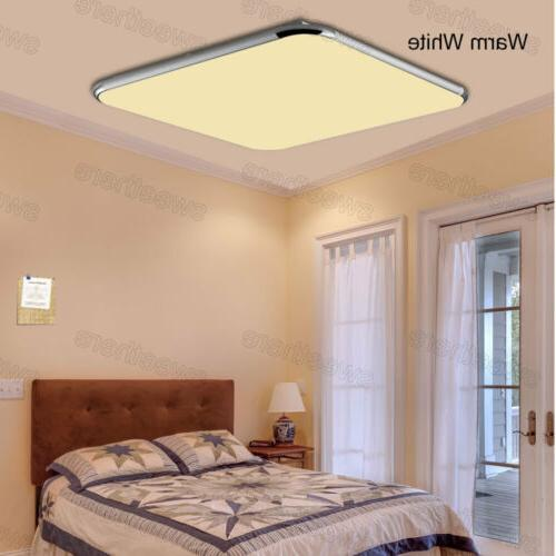 LED Down Dimmable Ultra Flush Mount Lamp Fixture