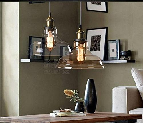 LUCIA Pendant Light Mid-Century Bronze Pendant Design with Free Installation; Lighting Fixture