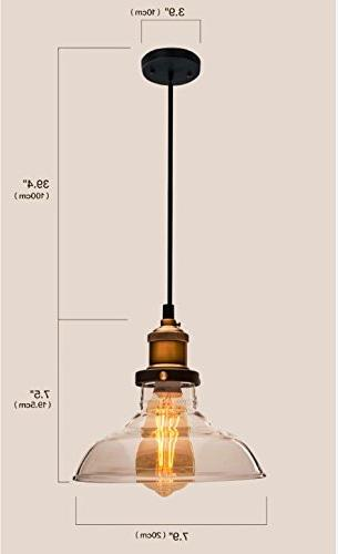 Light Bronze Pendant Design Free Installation; Fixture