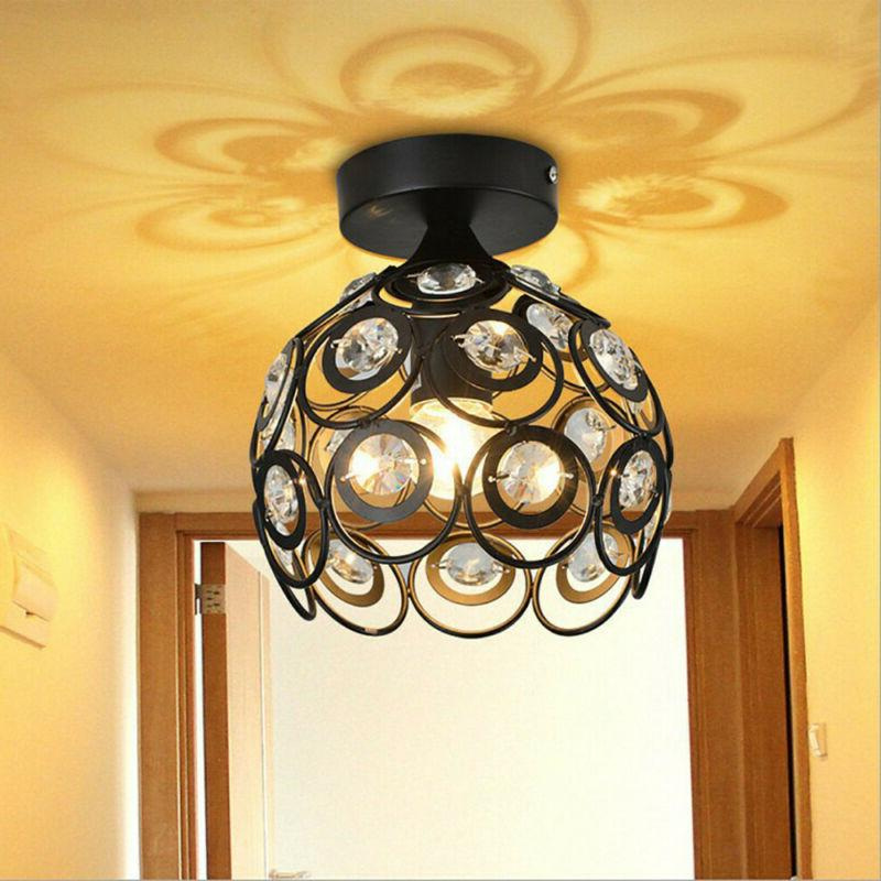 Metal Wire Lamp Shade In Ceiling US