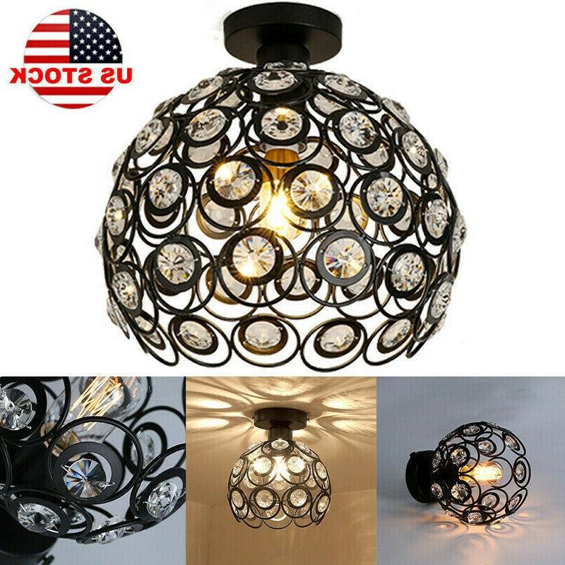 metal wire cage hanging lamp shade plug