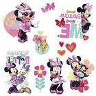 Minnie Mouse Happy Helpers Wall Decals 3-D Bows Disney Room
