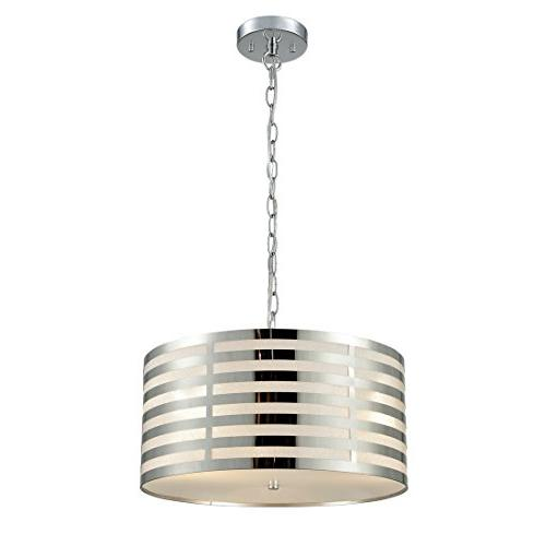 AXILAND Modern Pendant Chandelier, 3-Light