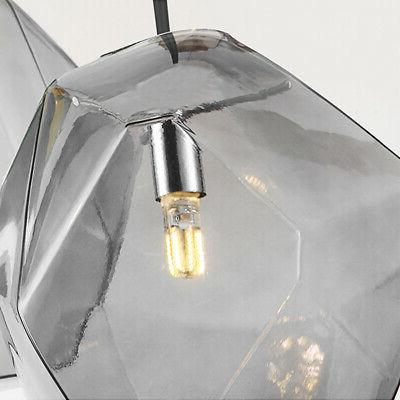 Modern Mini Glass Diamond Living Lighting