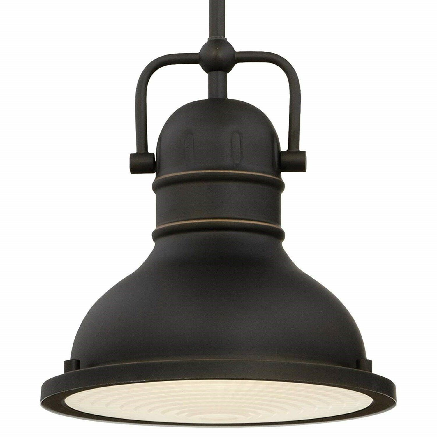 Oil Rubbed Pendant Light Industrial Kitchen Led