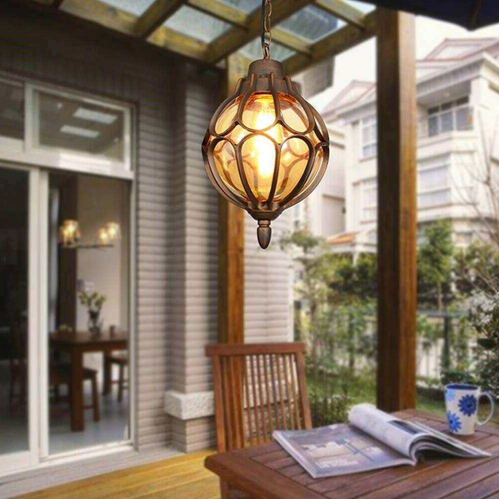 Outdoor Light Fixture Industrial Glass Exterior