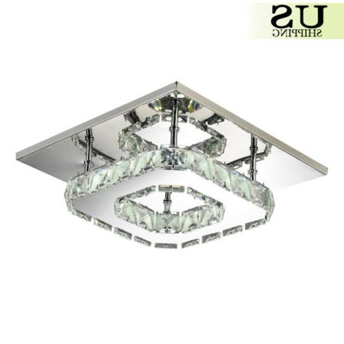 Pendant Ceiling Lamp Crystal Fixture Flush Mount Lighting
