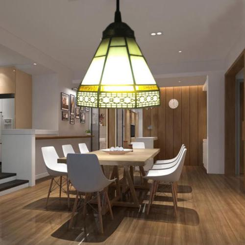 Pendant Lamp Tiffany Style Stained