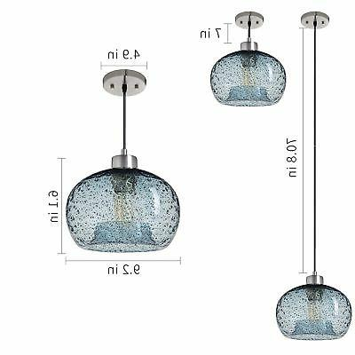 Casamotion Light Glass Drop Rustic Hanging
