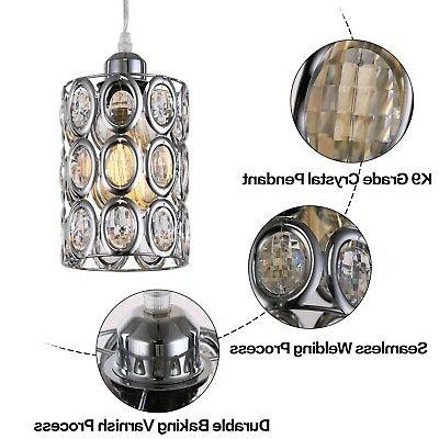 Plug Light Crystal Chrome Mini New