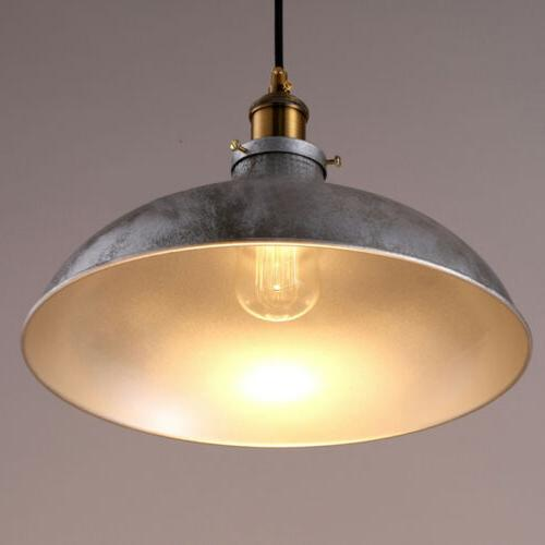 Industrail Silver Dome Ceiling Fixture