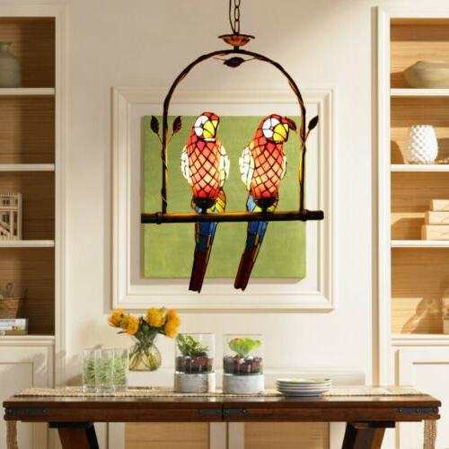 Tiffany Light Stained Glass Hanging