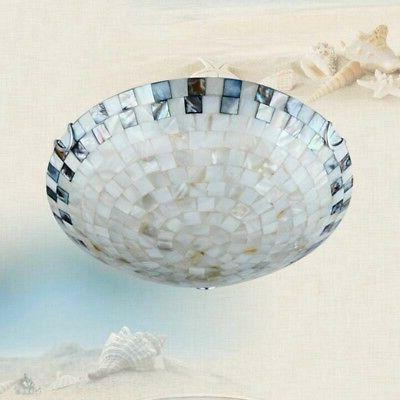 Tiffany Style Pendant Fixtures Shell Chandelier