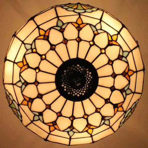 Tiffany Style Light Stained Mission