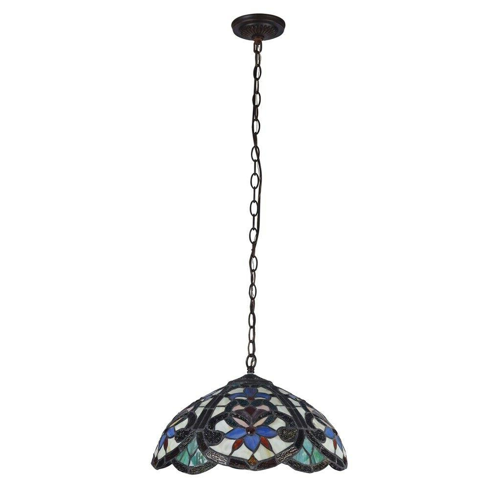 Tiffany Style Stained 2-Light
