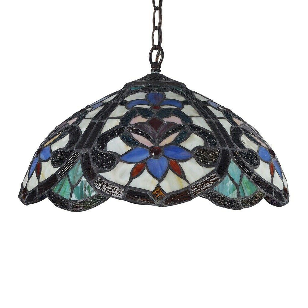 Tiffany Ceiling Light 2-Light
