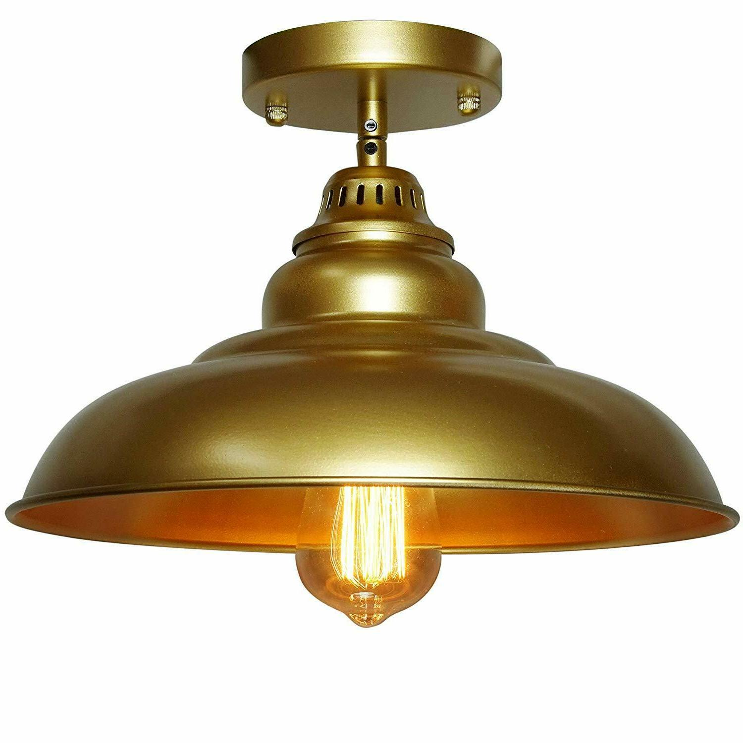 Barn Hanging Light Kitchen Table Dome