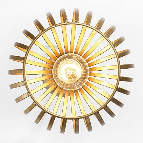 Popilion Ceiling Pendant Lights Gold and